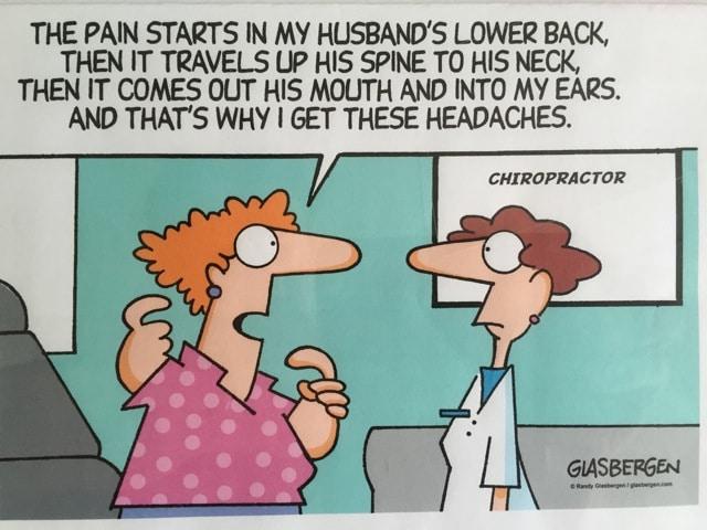 Richard Bruntsfield Chiropractic Treatment